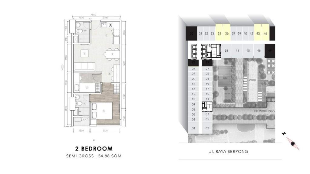 2 Bedroom collins boulevardd