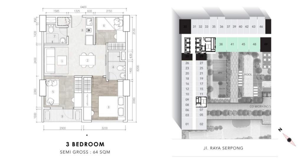 3bedroom collins